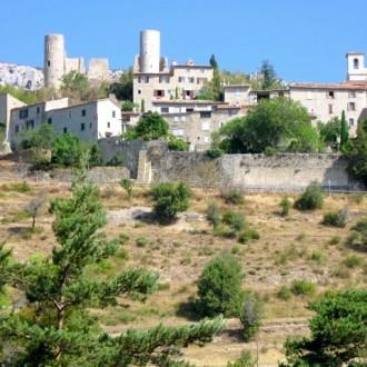 Bargème - highest village in the Var region
