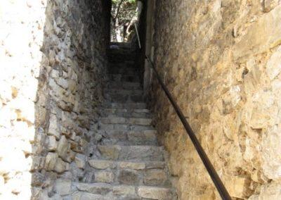 Steep Stairway
