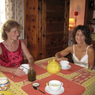 MayaJoëlle with Owner and Friend Annie Noël