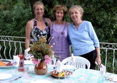 Eliane, MayaJoëlle, and Karen